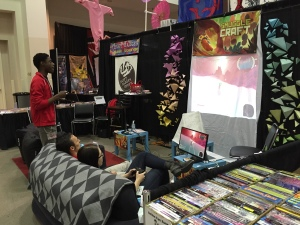 SmuggleCraft at Anime St. Louis. DEMOING IN THE LAP OF LUXURY.